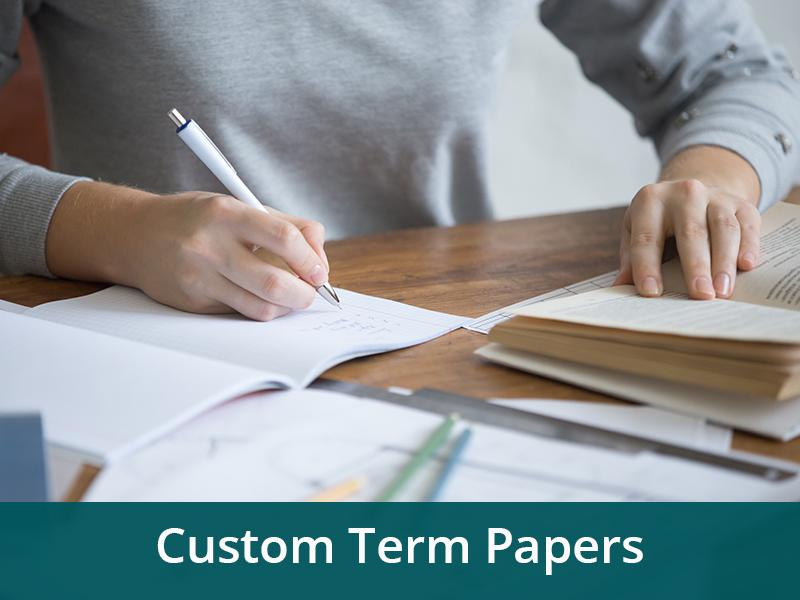 Unique Custom Term Papers | Qualified Assistance with College Writing